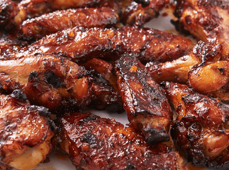 Asian Inspired Chicken Wings