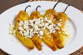 Marinated Bell Peppers w/Goat Cheese