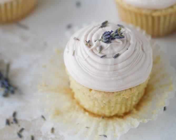 Elizabethan Lavender Cake