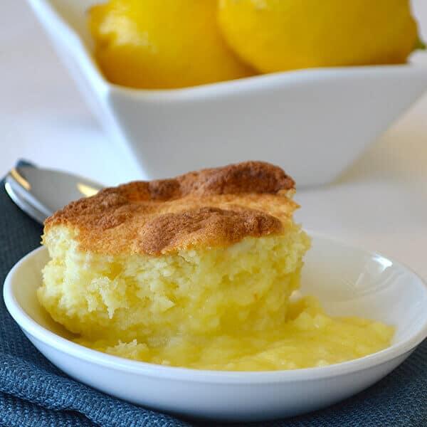 Zesty Lemon Pudding Cake